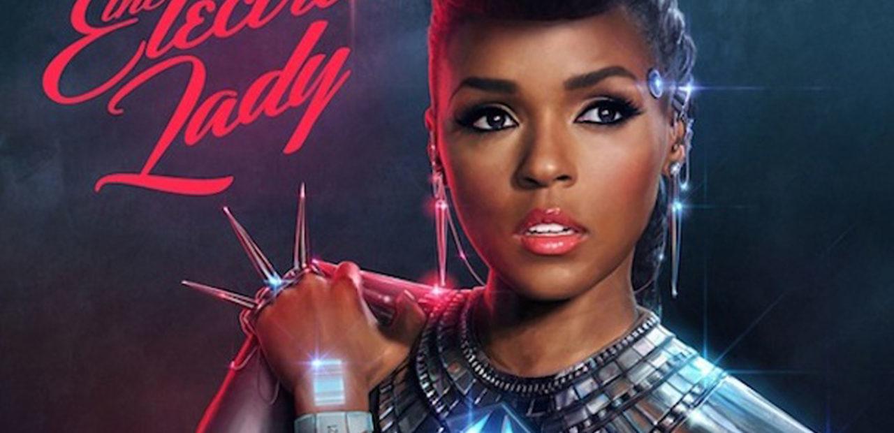 Janelle Monae electric lady album cover