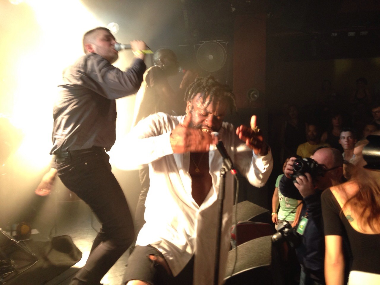 Young Fathers live