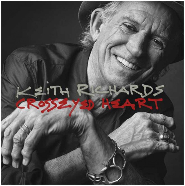 Keith Richards Cross Eyed Heart
