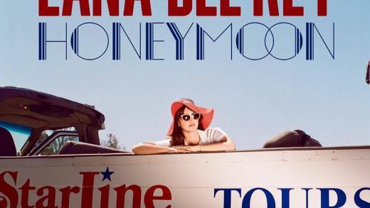 Lana del rey honeymoon cover