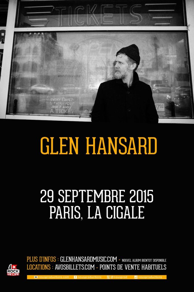 GLEN HANSARD 29 09 15 Paris