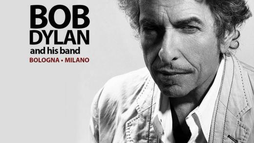 Bob Dylan live Bologna