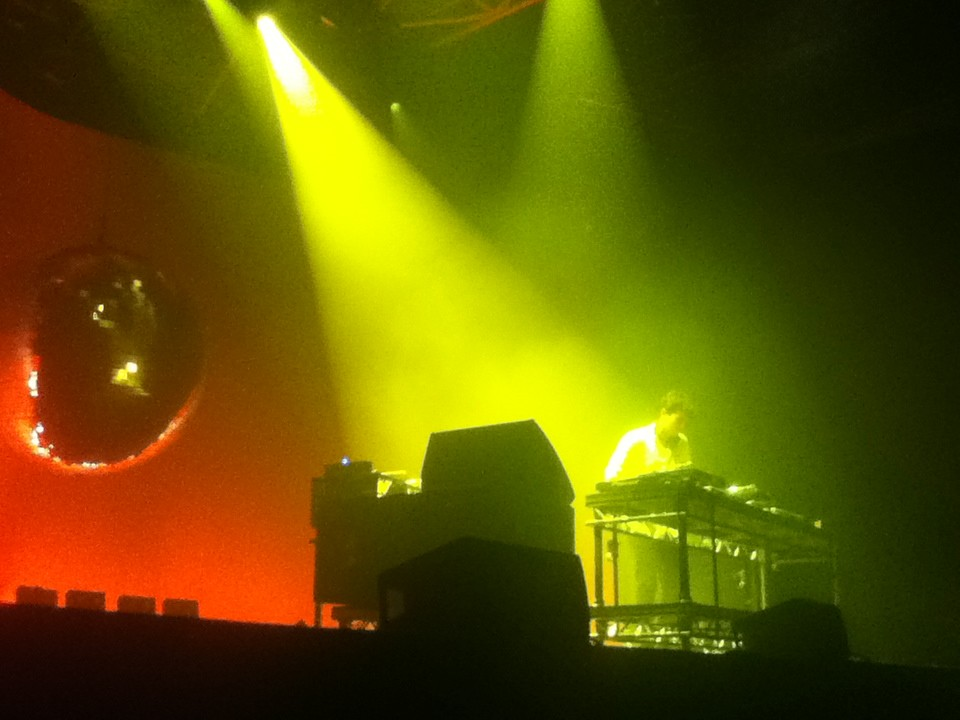 Jamie xx live Zenith