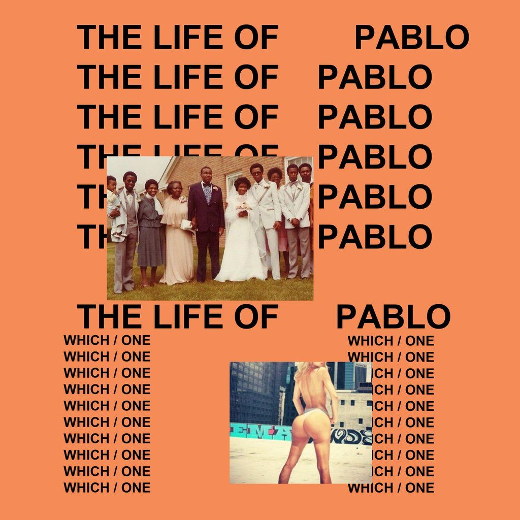 The Life of Pablo Tidal Front Cover