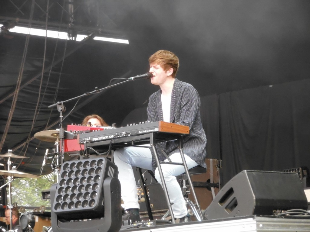 James Blake live welovegreen 2