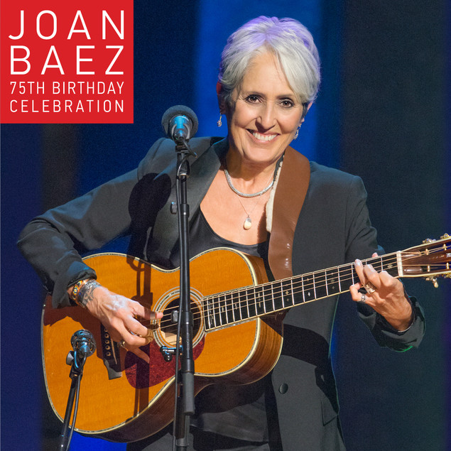 Joan Baez 75 CD cover