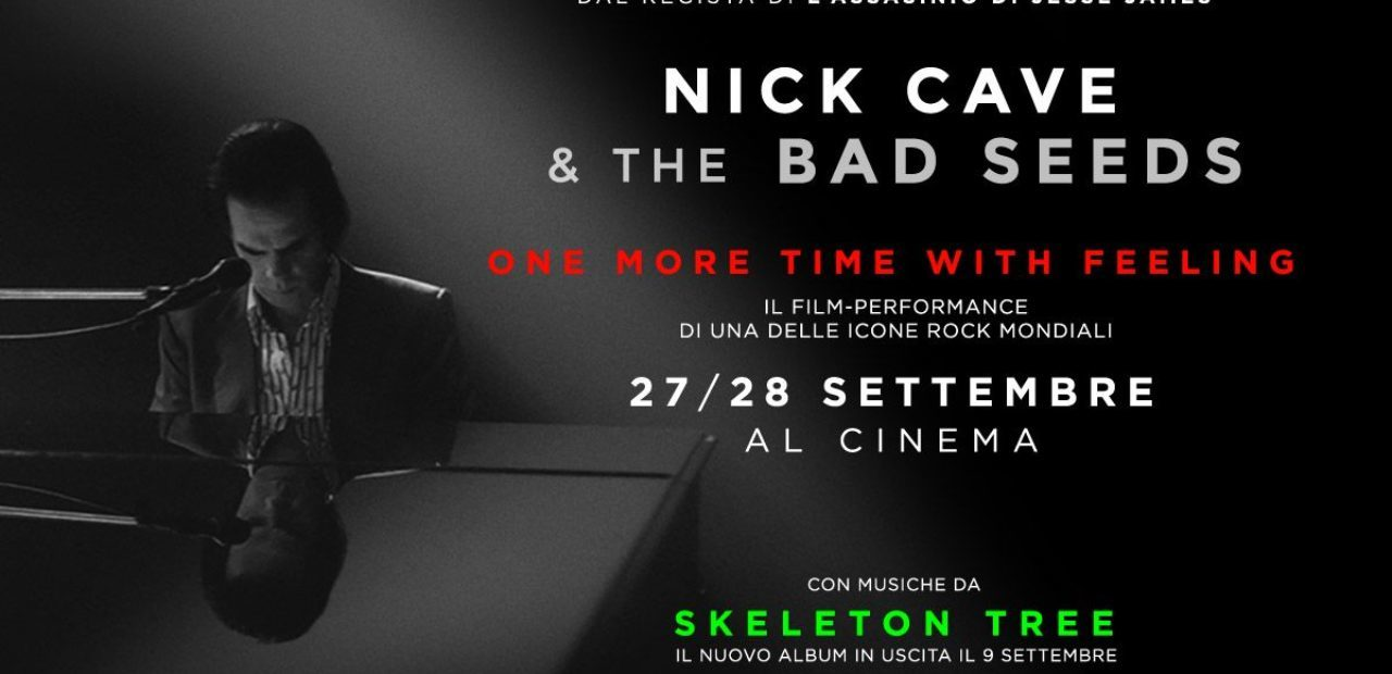 Nick Cave One more time with feeling