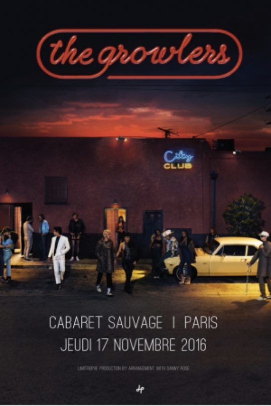 Concerto: The Growlers @ Cabaret Sauvage (Paris