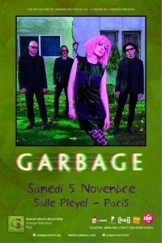 Concerto: Garbage @ Salle Pleyel (Paris)