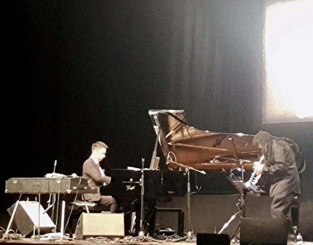 Wadada Leo Smith Vijay Iyer - Teatro Manzoni recensione concerto