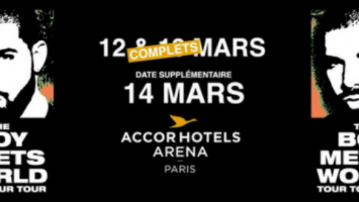 Concerto: Drake @ AccorHotel Arena Bercy – The Boy Meets World Tour
