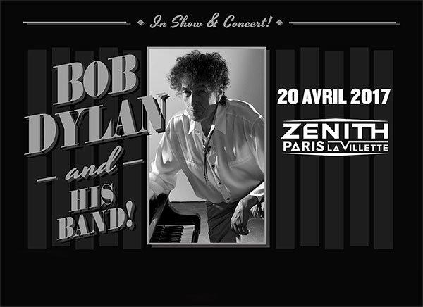 Bob Dylan @ Le Zénith concerto