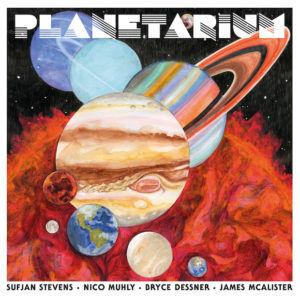 Sufjan Stevens, Bryce Dessner, Nico Muhly James McAlister Planetarium recensione