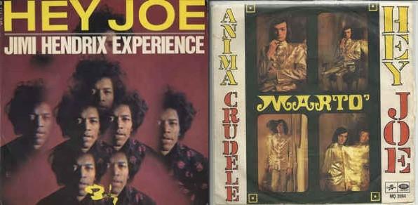 Hey Joe - Jimi Hendrix vs. Francesco Guccini