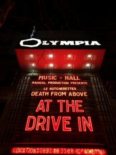 At The Drive In Live
