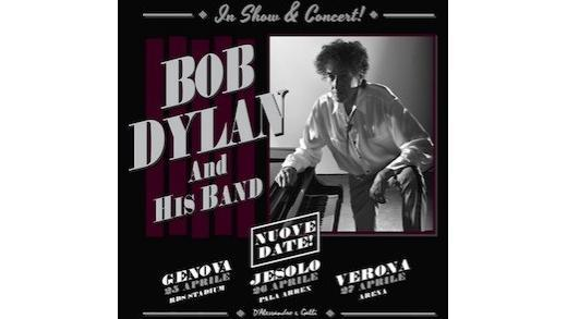 Concerto: Bob Dylan @RDS Stadium, Genova