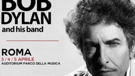 Concerto: Bob Dylan @ Auditorium Parco della Musica, Roma