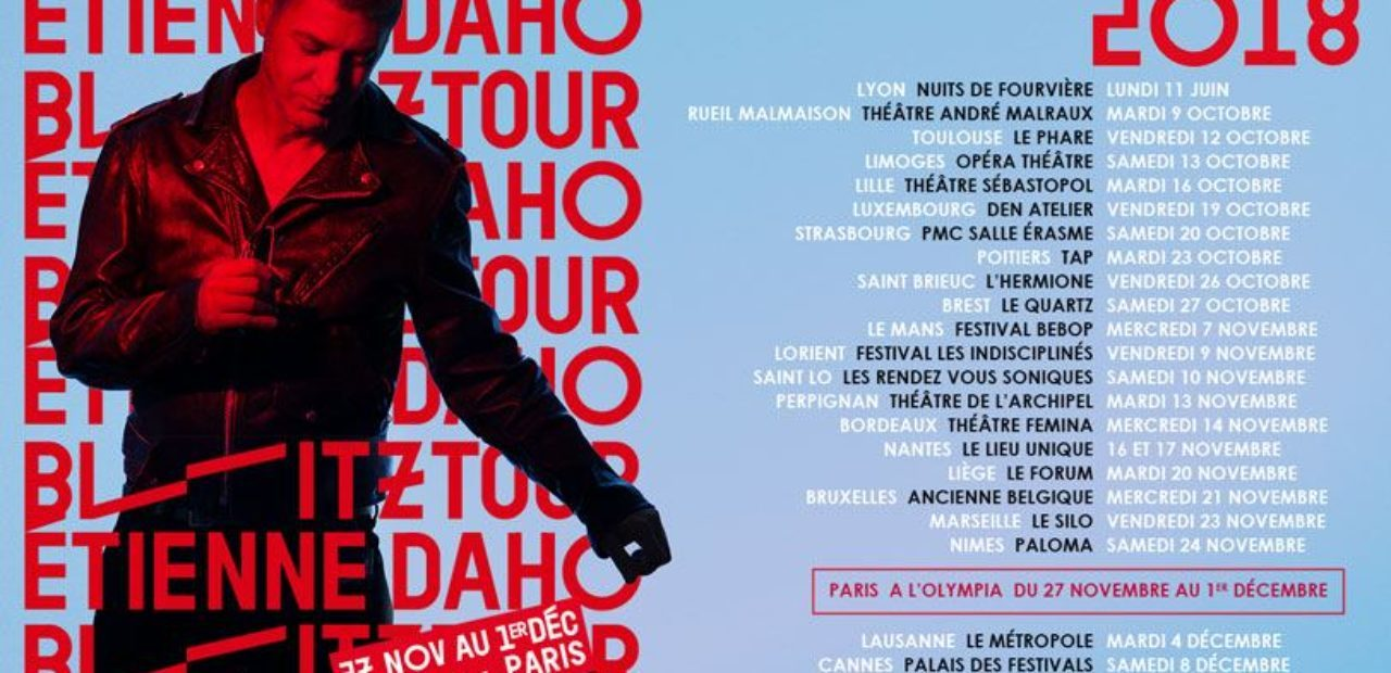 Etienne Daho @ L'Olympia