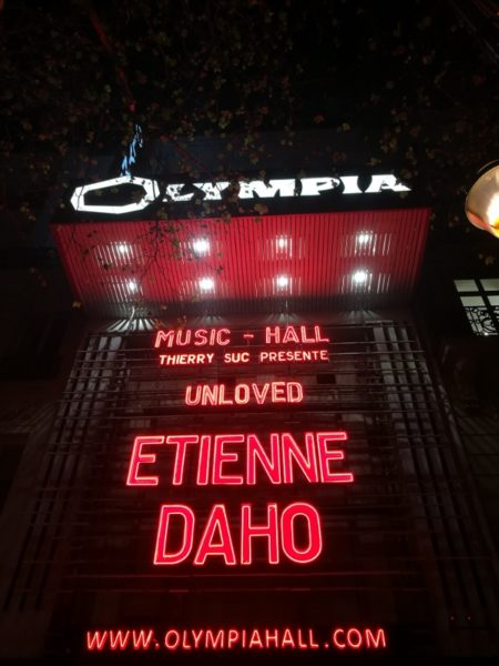Etienne Daho @ L'Olympia