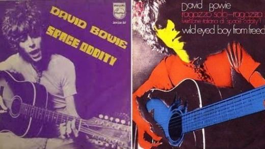 David Bowie - Space Oddity Ragazzo solo | Tomtomrock