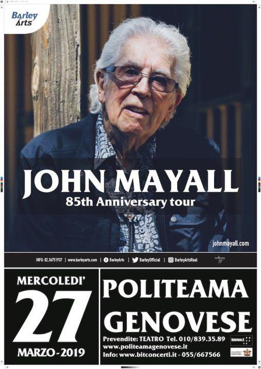 John Mayall Live Genova |Tomtomrock