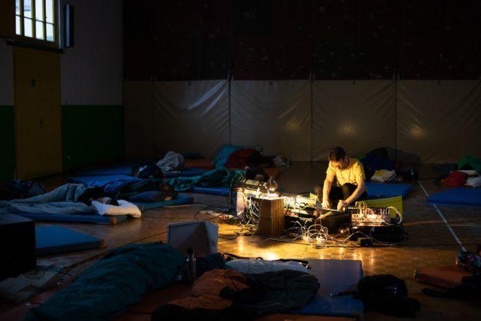 Simon Grab: Sleeping concert