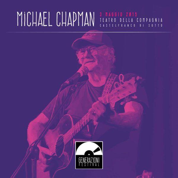 Concerto: Michael Chapman @ Teatro della Compagnia
