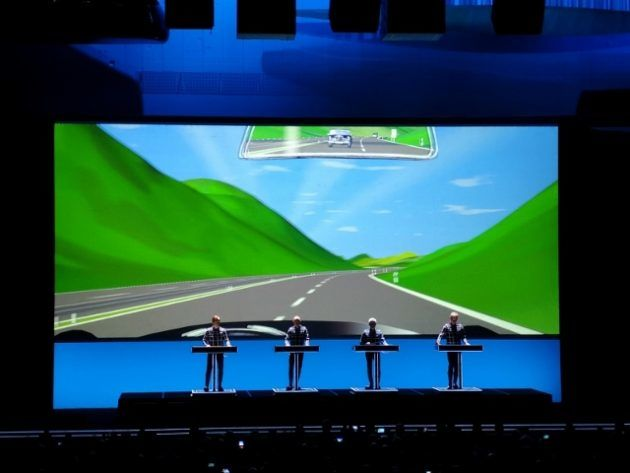 Concerto Kraftwerk 3D @ Days Off