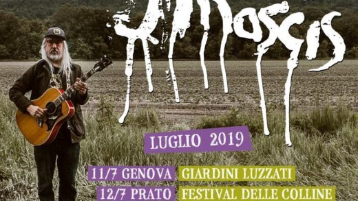Concerto: J Mascis @ Giardini Luzzati