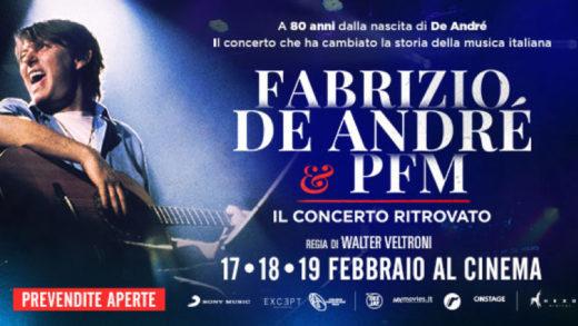 Articolo: Fabrizio De André e PFM. Il concerto ritrovato