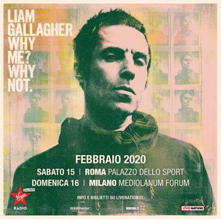 Liam Gallagher @ Palalottomatica