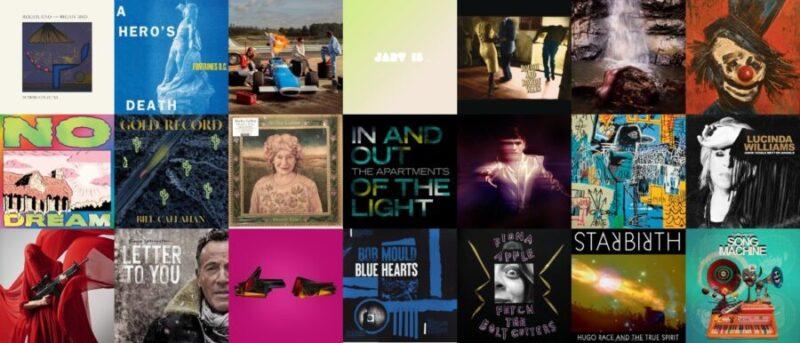 I migliori dischi del 2020
